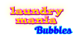 Laundry Mania Bubbles